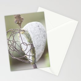 #Heart in #metall Stationery Cards