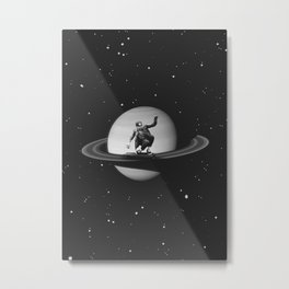 Planetary Ride Metal Print