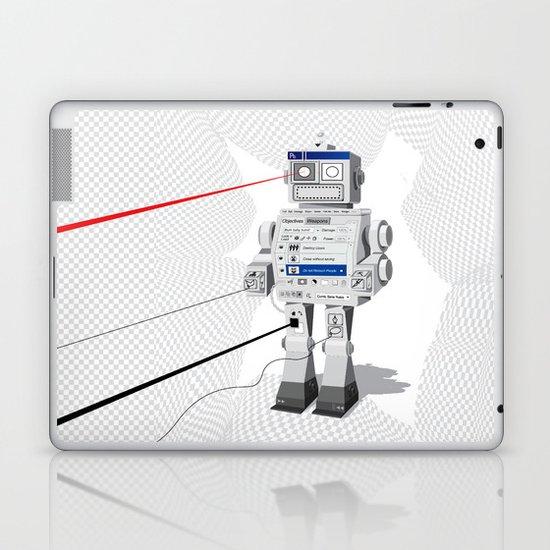 Photobot Laptop & iPad Skin