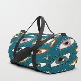 Eyes Limited Palette Pattern Duffle Bag