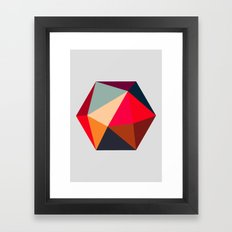 Hex series 1.2 Framed Art Print