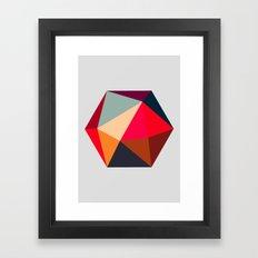 Hex series 1.2 Framed Art Print