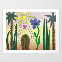 Believe Art Print
