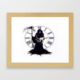 The Grim Reaper Framed Art Print