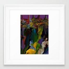 Chicot detail Framed Art Print