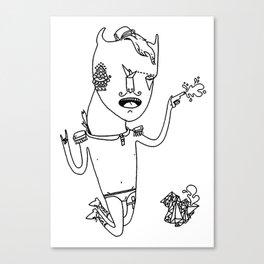 mr Canvas Print