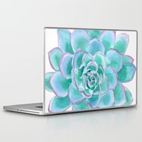 succulent Laptop & iPad Skins featuring Succulent by Susan Windsor