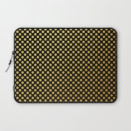 Small gold dots patter Laptop Sleeve