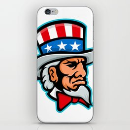 Uncle Sam Mascot iPhone Skin