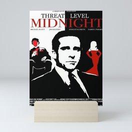 Threat Level Midnight Movie Mini Art Print