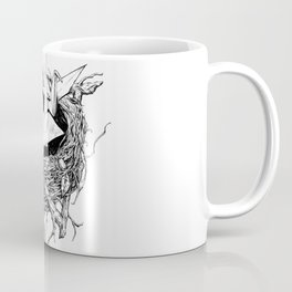 birds made of paper in a nest Coffee Mug