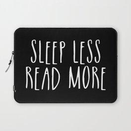 Sleep less, read more - inverted Laptop Sleeve