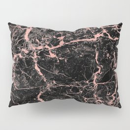 Marble Rose Gold - Someone Pillow Sham