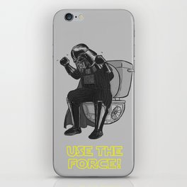 Use The Force! iPhone Skin