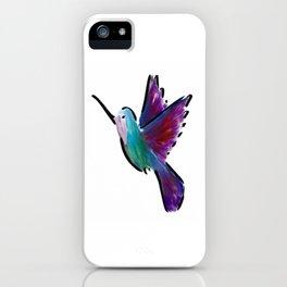 Huey Hummingbird iPhone Case