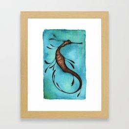 weedy SeaDragon Framed Art Print