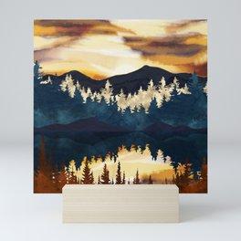 Fall Sunset Mini Art Print