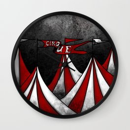 Life In The Circus Ain't Easy Wall Clock