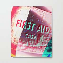 First Aid Metal Print