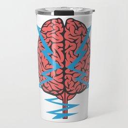 Problem Solving or Brainstorming Tshirt Design Brainstorming Travel Mug