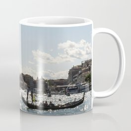 Vinice view with gondola from sea Coffee Mug