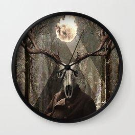 Doomed in November Wall Clock