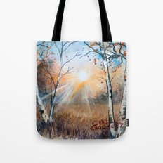 untitled landscape Tote Bag
