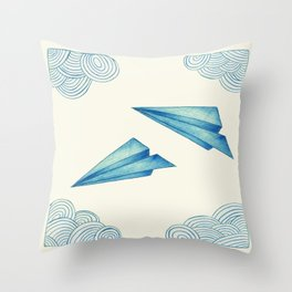 High Flyer Throw Pillow