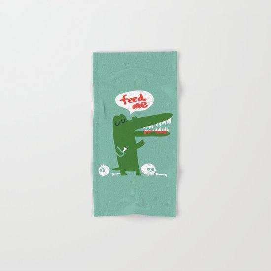 Hungry Hungry Alligator Hand & Bath Towel
