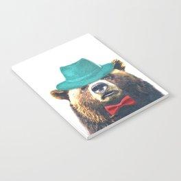 Funny Bear Illustration Notebook