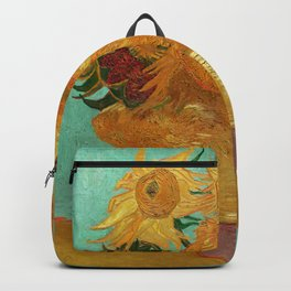 Vincent Van Gogh Twelve Sunflowers In A Vase Backpack
