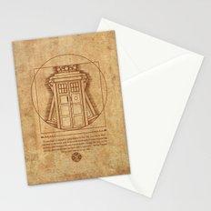 Vitruvian Tardis Stationery Cards