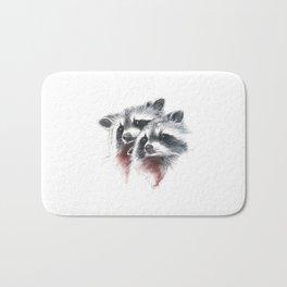 Raccoons I Bath Mat