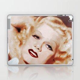 Jean Harlow, Actress Laptop & iPad Skin