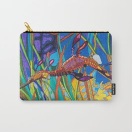 Elegant Seahorse Carry-All Pouch