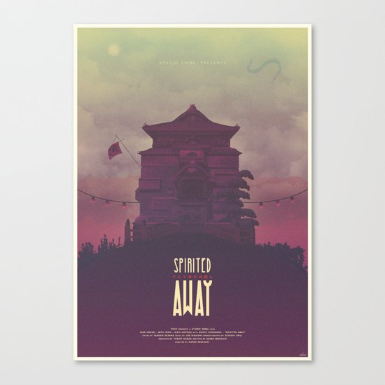 The River Spirit Canvas Print