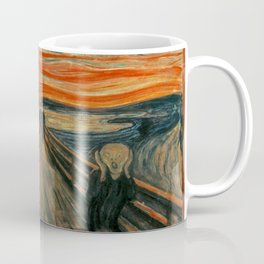 The Scream by Edvard Munch, circa 1893 Coffee Mug