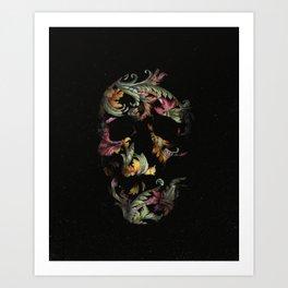 Paisley Skull Art Print