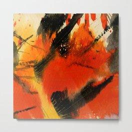 Art Abstraction 3 by Kathy Morton Stanion Metal Print