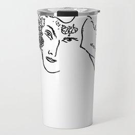 Sketches after Chagall Travel Mug