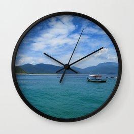 Ilha Grande, Brazil Wall Clock