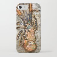lobster iPhone & iPod Cases featuring Lobster by Buster Fidez