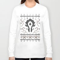 warcraft Long Sleeve T-shirts featuring Ugly Sweater 2 by SlothgirlArt
