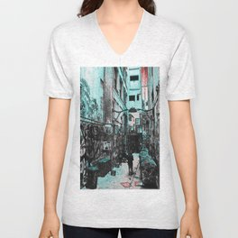 cocktail. Unisex V-Neck