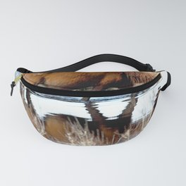 Watercolor Chincoteague Pony Fanny Pack