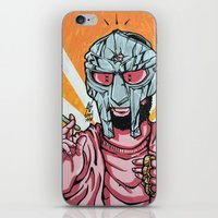 mf doom iPhone & iPod Skins featuring PINK PROPHET: DOOM by Rob Regis | #ARTLORDXXX