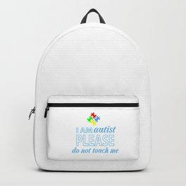 I am autist Backpack