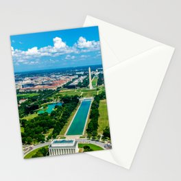 DC from Above Stationery Cards