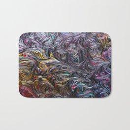 Cosmic Rainbow Bath Mat