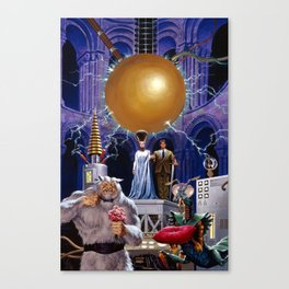Bride of the Castle Canvas Print